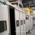 Berbeza Jenis Semi-automatik Spray Painting Booth