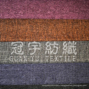 Imitation Oxford Polyester Linen Fabric for Upholstery Cloth