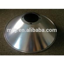 OEM High Precision Deep Drawing &Punching Metal/ Aluminum LED Lamp ShadeParts