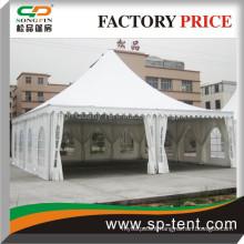 aluminum event tent 10mx10m with flame retardant fabric