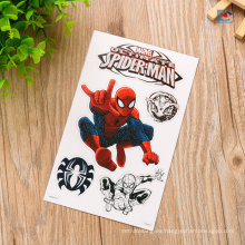 Aduana impresa etiqueta engomada material de la etiqueta del PVC del animal doméstico de la forma del logotipo 3D para los niños