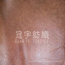 Composto de tecido de sofá de couro com escovado para trás para casa
