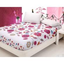 Equipado de ropa de cama/hoja hoja/pongis/Microfiber/impreso tela