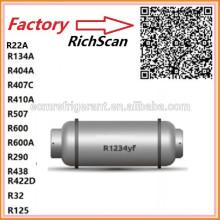 Refrigerant gas HFO-1234yf