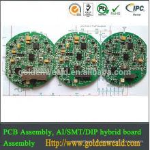 Montagem de fabricação de PCB Montagem de PCB para solução de iluminação para iluminação em muitas aplicações Montagem de PCBA