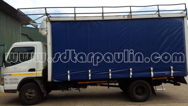 Poly Tarp Truck Cover