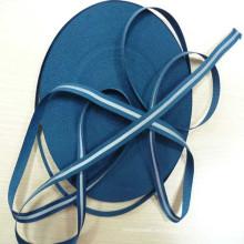 alto poliester reflectante alta visibilidad azul marino con cinta de película reflexiva de transferencia de calor
