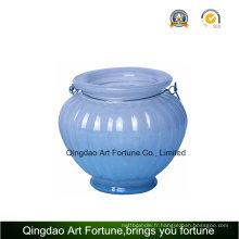 Pot de verre pour bougies et décoration pour la maison