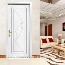 Weiße Farbe Massivholz Tür, Luxus Europa Stil Holztür, Fashional Holz Tür für Hotelzimmer