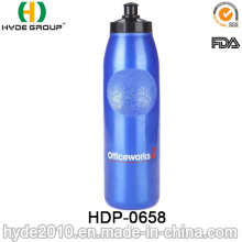 2017 Travel BPA Free Plastic Sport Water Bottles, PE Plastic Running Water Bottles (HDP-0658)