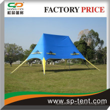 Le couvercle de pvc imperméable à l'extérieur offre une tente étoilée facile pour les festivals