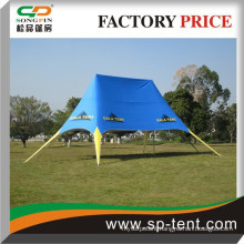 Outdoor waterproof pvc cover easy up star tent for festivals