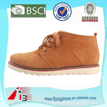 Chaussures en cuir de daim haut de gamme pour hommes