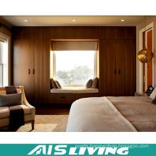 Modular Calssic Melamine Finish Walk in Wardrobe Closet with Drawers (AIS-W330)