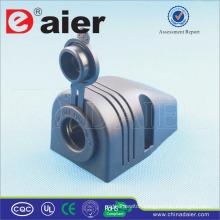 DC Car Multiple Power Socket + Bracket One Hole+Standard Nut+Marine Cover