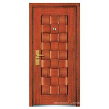 Стальная деревянная дверь (компания fxgm-А104)