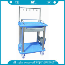 AG-IT002A3 approved ABS medical injection hospital laundry trolleys