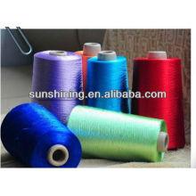 fil de filaments de rayonne teints