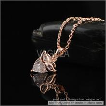 VAGULA маска дизайн циркон ожерелье (Hln16352)