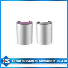 Sliver Aluminium Cosmetic Disc Top Cap