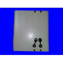 Montagem na parede porta dupla ODF
