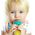 Dispensador de alimentos para bebés con alimentación automática personalizada de silicona
