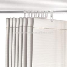 Piezas ciegas verticales 127mm pista de aluminio de peso inferior del pvc