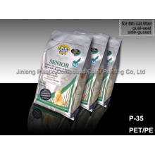 Qual-Seal 8bl Cat Litter Packaging Sac en plastique