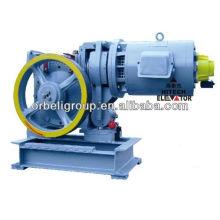 Machine de traction par ascenseur (Geared), tracteur élévateur, élévateur
