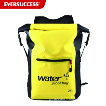 25л Водонепроницаемый сухой Сумка рюкзак карман через плечо ремень сухой сжатия мешок сухой снаряжение для водных видов спорта на свежем воздухе путешествия