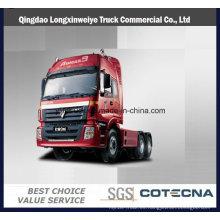 Precio competitivo Foton Auman 4X2 contenedor remolque tractor cabeza camión
