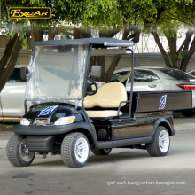 EXCAR Multifunctional 2 Seater carrier mini electric golf cart with cargo box