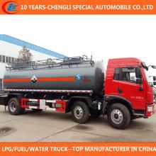 Caminhão de transporte de ácido clorídrico de caminhão de transporte químico 6X2 para venda