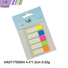 Marcadores transparentes de néon