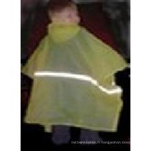 Cape de pluie pour enfants HI-VIZ