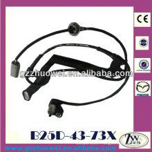 Capteur de vitesse de roue automatique excellent véhicule pour Mazda 3, 323, Premacy B25D-43-73X