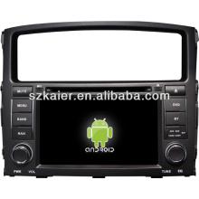 Sistema Android multimedia central del coche para Mitsubishi Pajero / Montero con GPS / Bluetooth / TV / 3G / WIFI