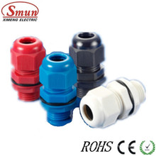 Pg9 Cable Gland, Plastic Glands, PA PP PE Material White, Grey, Black Color