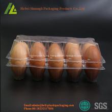 Custom clear PVC/PET plastic egg cartons
