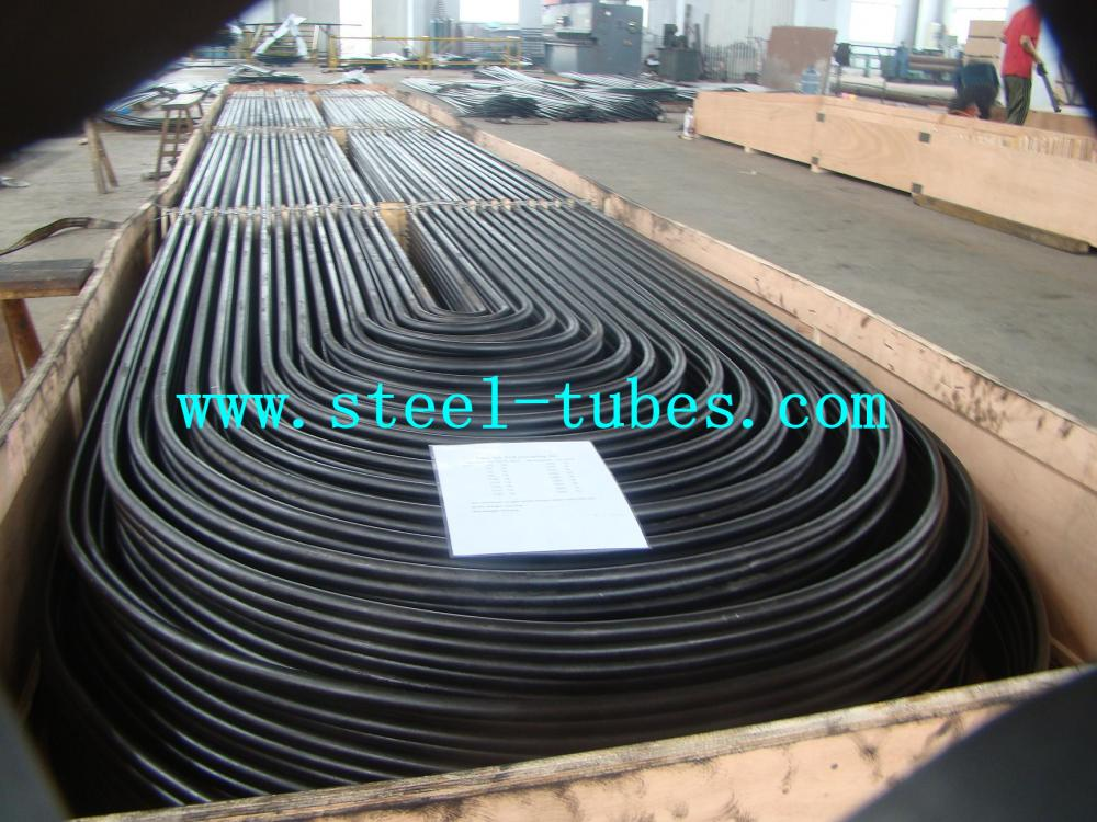 ASTM A179 U Bend Seamless Low-Carbon Heat-Exchanger dan Condenser Tubes