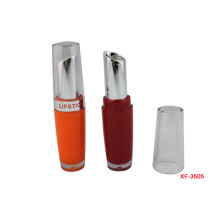 Concise Orange Makeup Lipstick Container