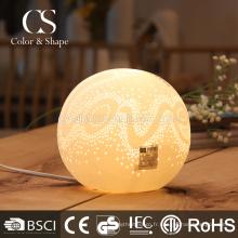 Lampe de table de chambre à coucher romantique romantique écologique petite taille