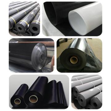 Geomembrana de material de PVC de 0,5-2 mm para proyecto de vertedero