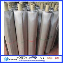 Malla de alambre de níquel puro N6 N8 malla 300 para el cribado de la filtración de gas líquido
