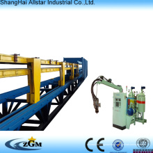 wall panel/discontinuous pu sandwich panel production line