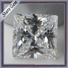 Nova Moda Princesa Cut Loose CZ Gemstone Stone Jóias Beads