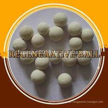 Armazenamento térmico Bolas cerâmicas / bola regenerativa usada em refratário