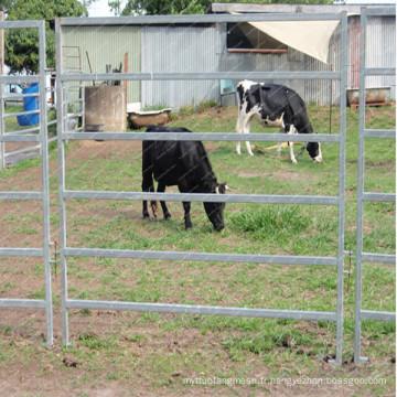 Clôture galvanisée de panneau de bétail de ferme / panneaux de bétail