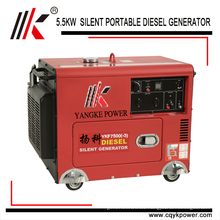 MINI JET ENGINE DYNAMO GENERATOR SET WITH 5KW 5.5KVA SILENT GENSET USED HOME ENGINE DIESEL