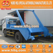 4x2 10cbm DONGFENG tianjin 190hp skip loader garbage truck/container hooklift garbage truck trash truck new model good quality
